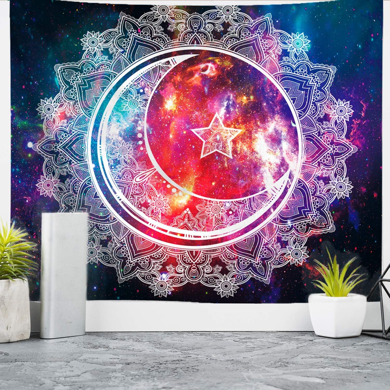 Popularity Overseas parallel import regular item Nidoul Psychedelic Tapestry Wall Mandala Hanging Boho