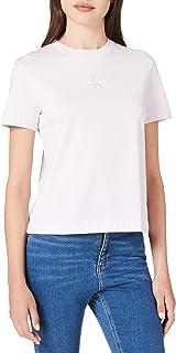 Calvin Klein Monogram Logo Tee T-Shirt Donna