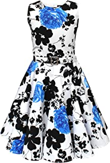 BlackButterfly Kids 'Audrey' Vintage Serenity 50's Girls Dress