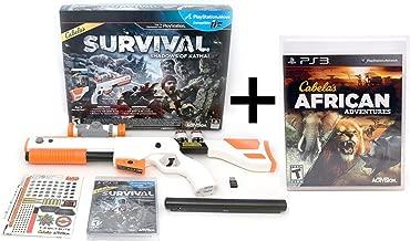 PS3 Cabela's BUNDLE Shadows of Katmai + African Adventures Video Game Hunt