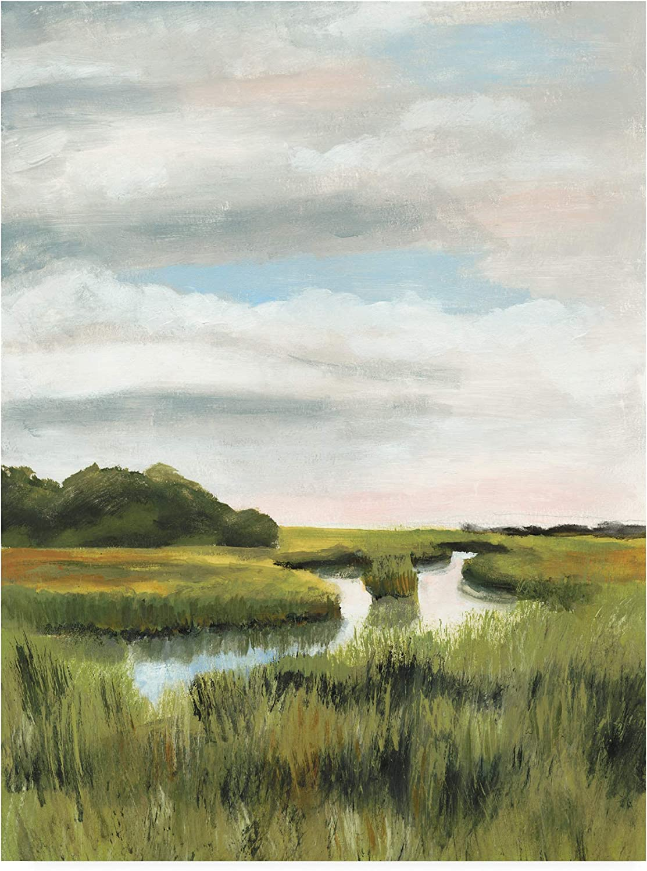 Trademark Fine Art Marsh Landscapes I by Naomi McCavitt, 14x19