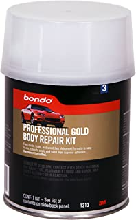 Bondo 01313 1 Quart Professional Gold Body Repair Kit