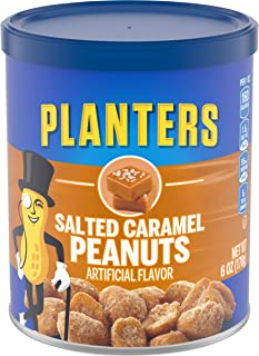 Planters Salted Caramel Peanuts (6oz Canister)