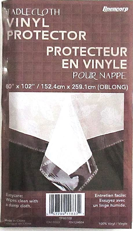 Everything Else CLEAR PLASTIC TABLECLOTH PROTECTOR 60 X 102 NEW VERY