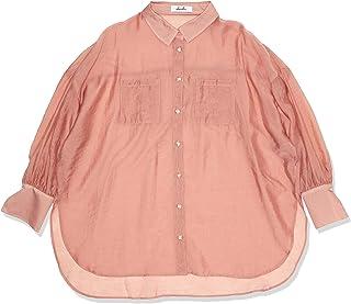 [ダズリン] シャツ 【S】シアーサマーオーバーシャツ レディース 022030400201