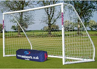 Samba 12' x 6' Match Goal! High Impact uPVC, Portable, Withstands All Weather Conditions. Used by Premier League Academies & Perfect for Your Backyard!