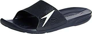 Atami II Max Pool Slider Sandals, Navy with White