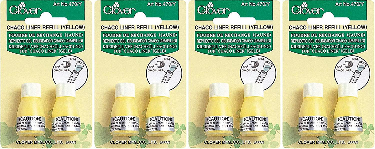 Yellow-1 CLOVER 470//Y Refill Chaco Liner