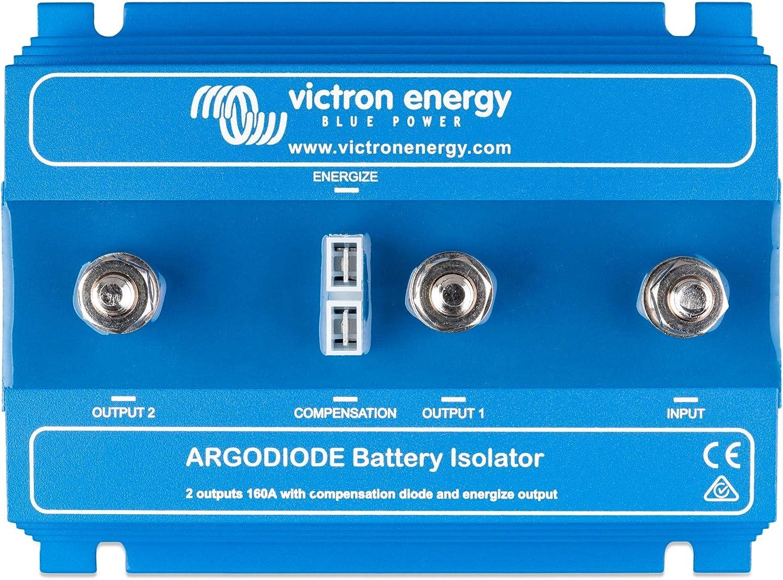 Victron Energy Arg080202000r Argodiode 80 2sc 80 A Retail 2 Batterien 80 A Ohne Lichtmaschineneingang Auto