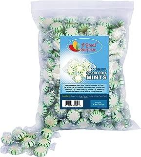 Mint Candy - Colombina Starlight Mints - Green Candy - Hard Bulk Candy 4 LB