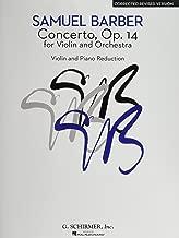 Best barber violin concerto music Reviews