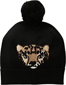 Kate Spade New York - Cheetah Intarsia Beanie