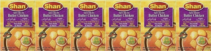 Shan Butter Chicken Mix - 50 Gms X 6 Pcs