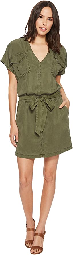Splendid - Wilder Tencel Short Sleeve Cargo Dress