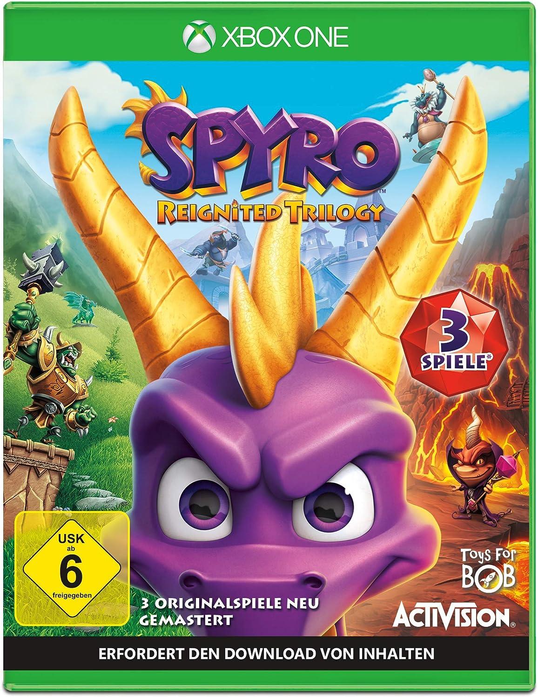 Spyro Reignited Trilogy - Xbox One [Importación alemana]