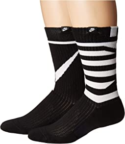 Sneaker Sox Crew Socks 2-Pair Pack