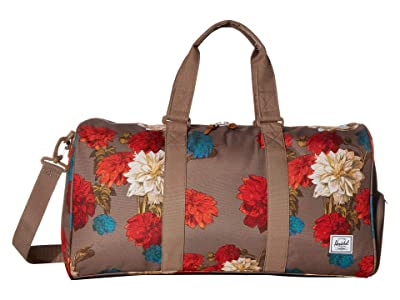 Herschel Supply Co. Novel Mid-Volume (Vintage Floral Pine Bark) Duffel Bags
