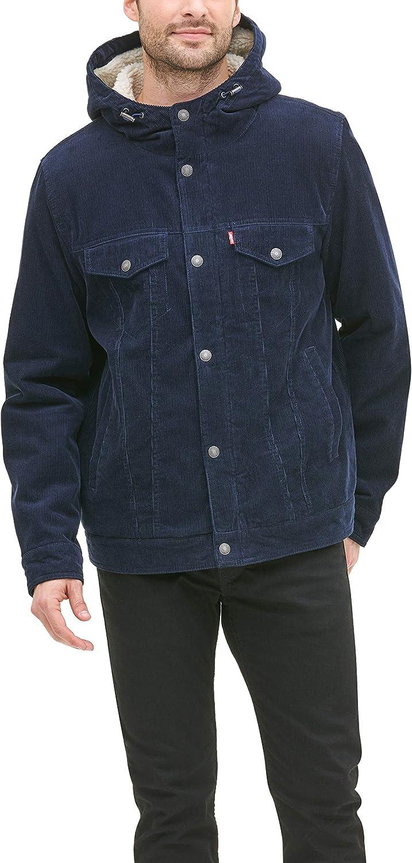 Levi's Special sale item Men's Corduroy Sherpa Trucker Jacket Seattle Mall Hooded