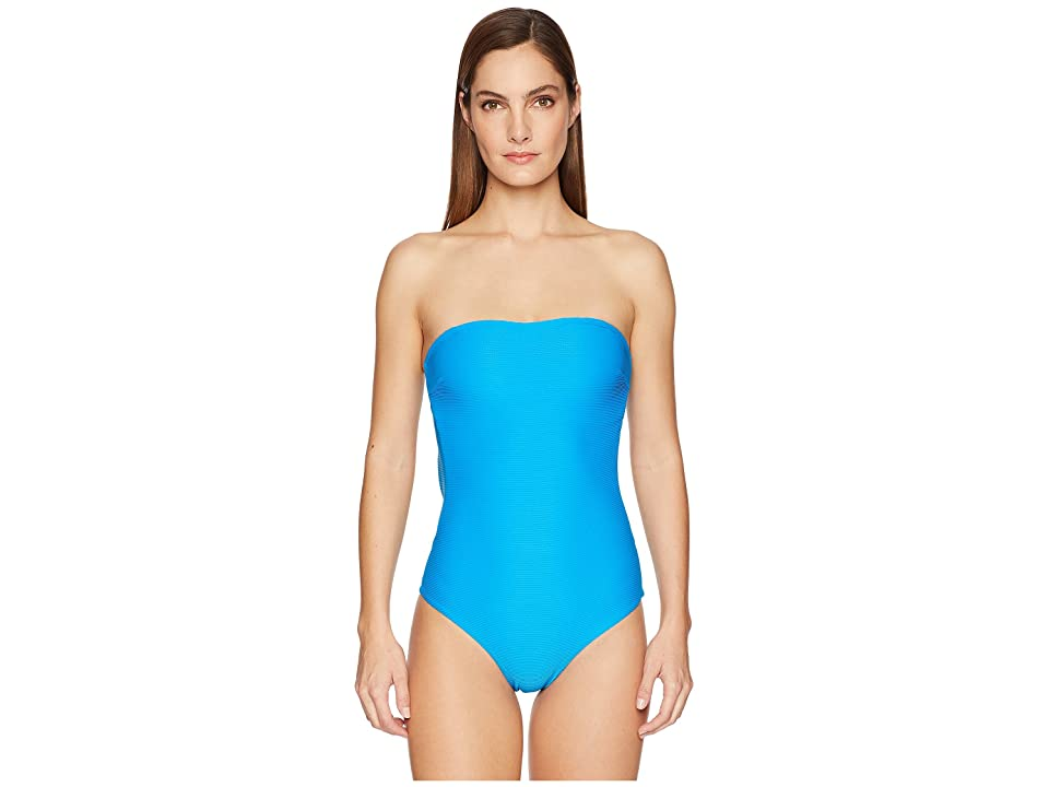 onia Estelle One-Piece (Cerulean) Women