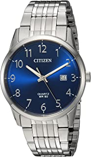 Citizen Men's Quartz Stainless Steel Casual Watch, Color:Silver-Toned (Model: BI5000-52L)