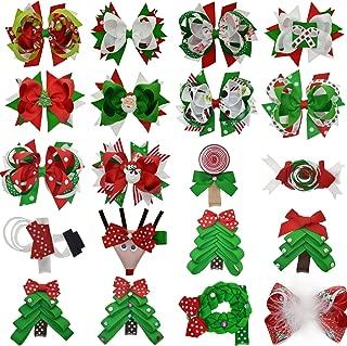 baby christmas bow