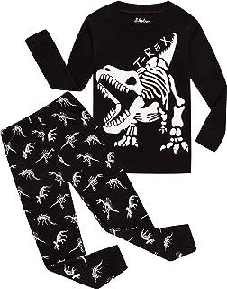 shelry Boys Airplane Pajamas Children Christmas Sleepwear Toddler Cotton  Pants Set 77b106e7a