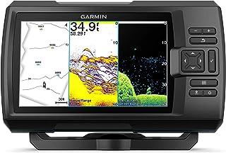 Garmin Striker Vivid 7cv, Easy-to-Use 7-inch Color Fishfinder and Sonar Transducer, Vivid Scanning Sonar Color Palettes (0...