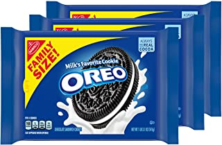 Oreo Chocolate Sandwich Cookies, Family Size - 3 Packs
