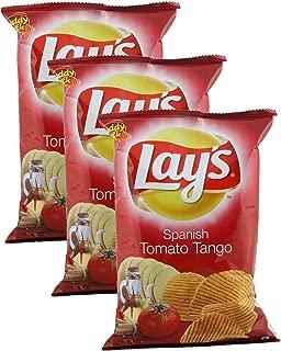 Lay's Potato Chips, Spanish Tomato Tango, 52 grams - India. Pack of 3. Vegetarian