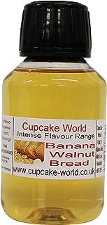 Cupcake World Aromas Alimentarios Intenso Pan de Plátano y Nuez - 100 ml