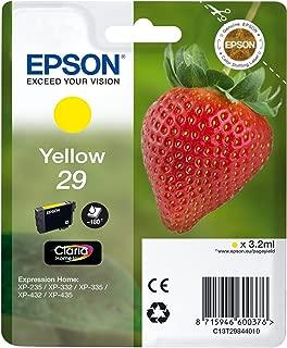 EPSON 29 Claria Home Strawberry Ink Cartridge - Yellow