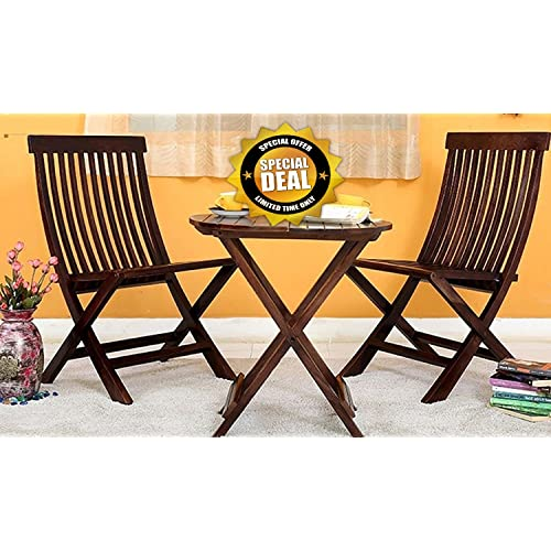 Of Set Chairs 4 Brownfoldingdining: Folding Dining Table With Chairs: Buy Folding Dining Table