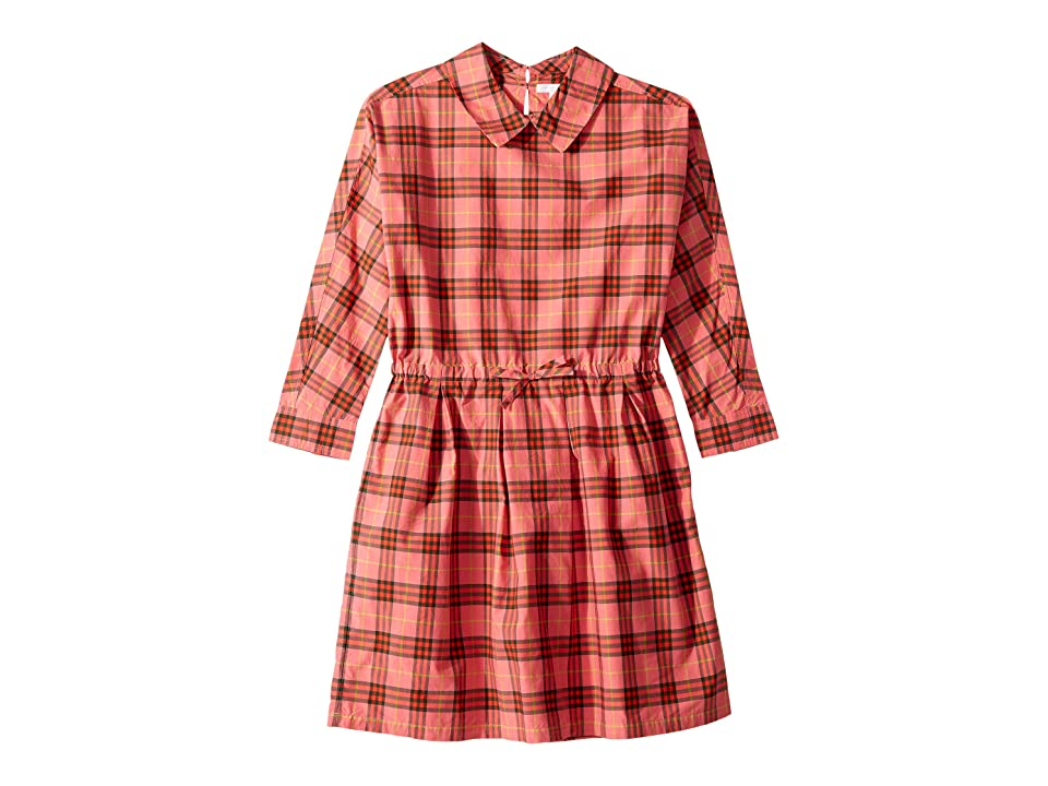 26fcd31db013e Burberry Kids Crissida ACHMG Dress (Little Kids/Big Kids) (Coral Red)