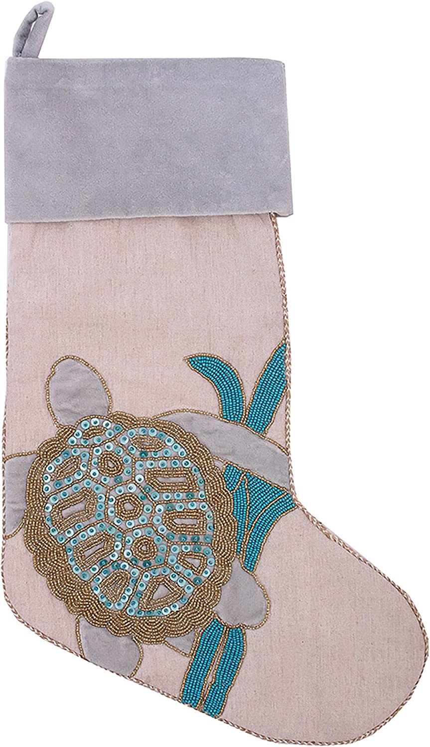 CF Manufacturer regenerated product Home Holiday Serenity Turtle Blue Stocking favorite