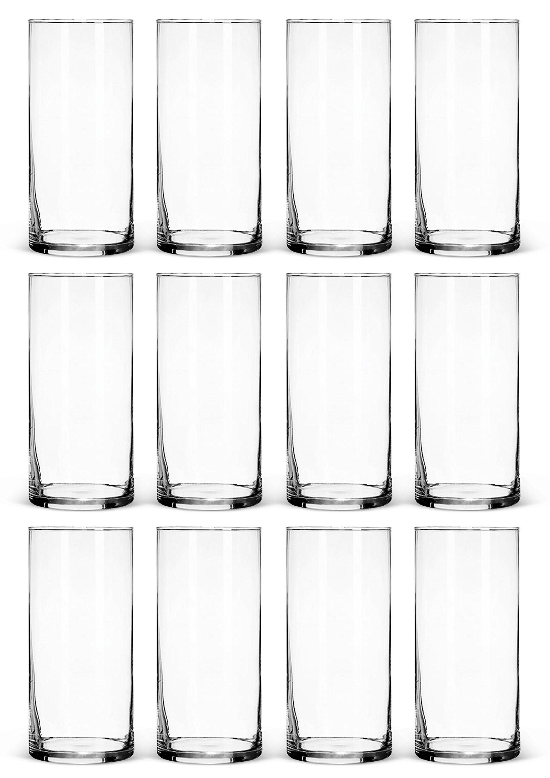 tall plastic vases amazon com rh amazon com plastic vases for centerpieces wholesale inexpensive plastic vases for centerpieces
