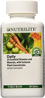 NUTRILITE� Daily Multivitamin Multimineral DIETARY SUPPLEMENT 180 TABLETS