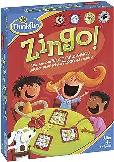 ThinkFun Zingo!® 76351 The Fast Word Picture Bingo from 4 Years