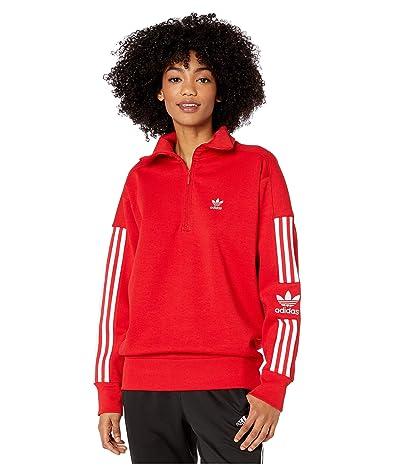adidas Originals Lock Up Sweatshirt (Scarlet) Women