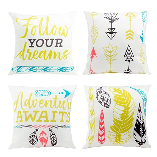 Groovy Colorful And Bright Throw Pillows Amazon Com Unemploymentrelief Wooden Chair Designs For Living Room Unemploymentrelieforg