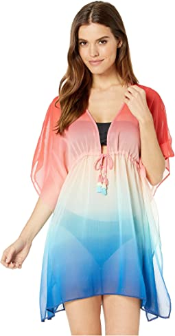 4d644b2b89 Bleu rod beattie island heat caftan cover up | Shipped Free at Zappos