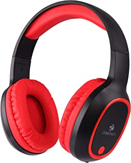 Zebronics Zeb-Thunder Wireless BT Headphone Comes with 40mm Drivers, AUX Connectivity, Built in FM, Call Function, 9Hrs* P...