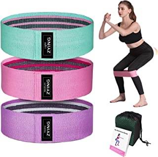 Resistance Bands for Legs and Butt, Exercise Loops for Women and Men, Fitness Booty Bands for Squat Glute Hip Tight Workout Training, Sets of 3