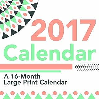 Trends International 2017 Wall Calendar, September 2016 - December 2017, 11.5