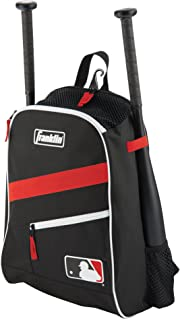 Franklin Sports MLB Batpack Bag – Youth Baseball, Softball and Teeball Bag –..