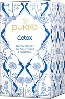 Detox PUKKA Tee BIO 4 Packungen à 20 Teebeutel