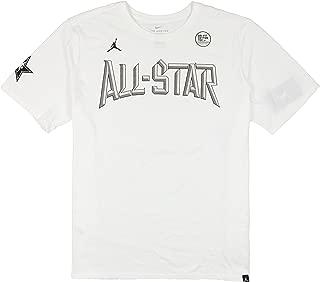 Jordan Men's NBA All Star Weekend Logo T-Shirt X-Large White