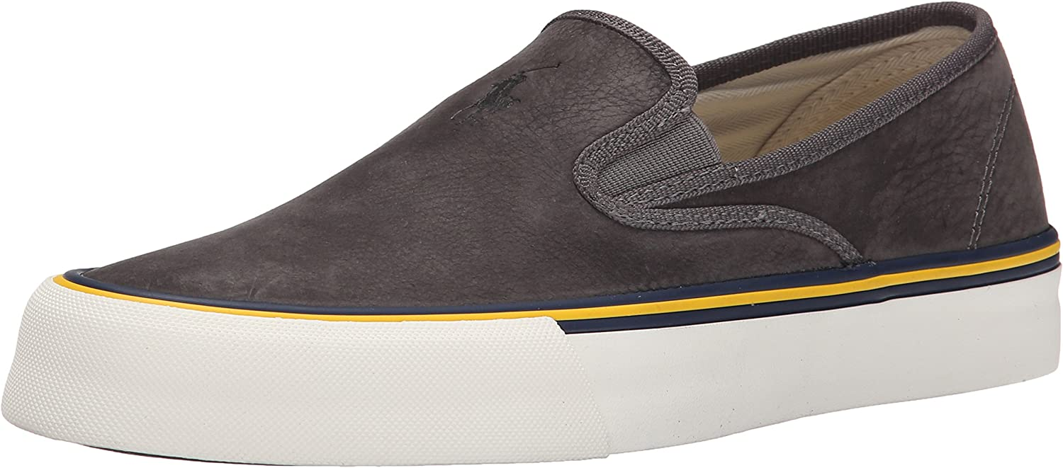 Polo Ralph Lauren Men's Mytton Fashion Sneaker Black