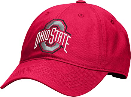 official photos 4d9f0 24c91 J America NCAA Ohio State Buckeyes Men s Wideout Slouch Adjustable Cap, One  Size, ...