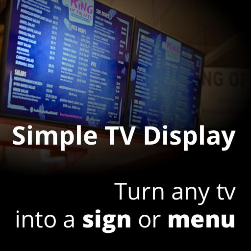 Simple TV Display (No Sleep Webpage…