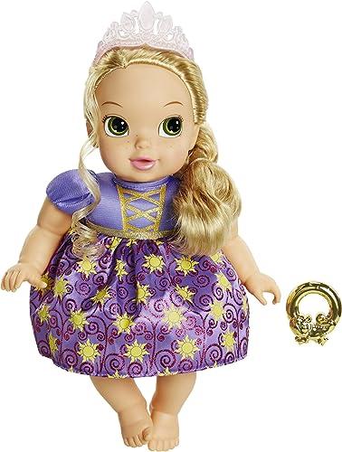 sin mínimo Disney Princess Deluxe Baby Baby Baby Rapunzel  selección larga